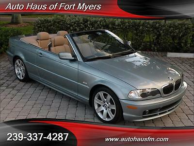 2003 BMW 3-Series Base Convertible 2-Door We Ship Nationwide Fully Serviced Fl Owned Only 57K Miles Premium/Sport