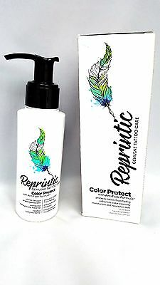 Pl/ Reprintic Tattoos Protective Daily cream After Tattoo COLOUR STOPS FADING