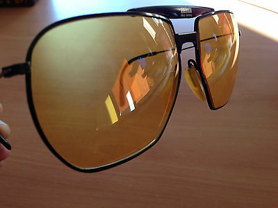 Zeiss vintage competition glasses frame West Germany Godfather style