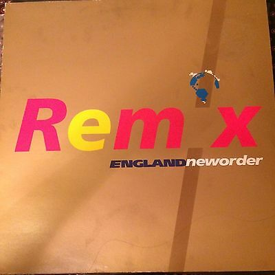 """fac293r New Order - World In Motion - England - 12"""" Remix Single Factory Records"""