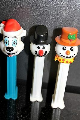 Vintage Pez Christmas  lot