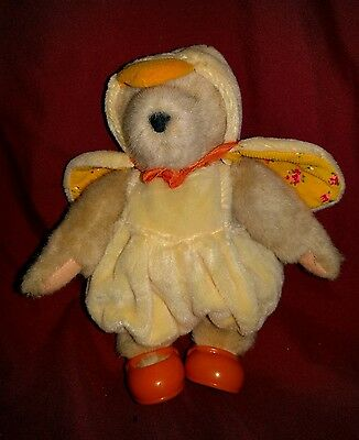 """Cheap Muffy Vanderbear """"Easter Chick"""".**Great for Easter Baskets!"""