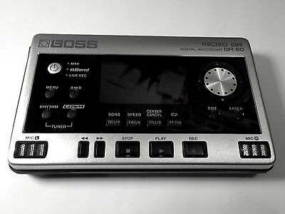 Boss BR80 USED Boxed 8 Track Digital Recorder In Miniature