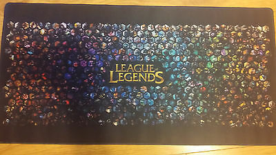 League of Legends Gaming Large Desk Mat / Mouse Pad 90x40cm - Shipped from UK!