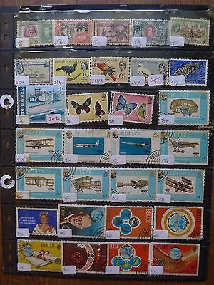 British Honduras / Belize - Various Stamps