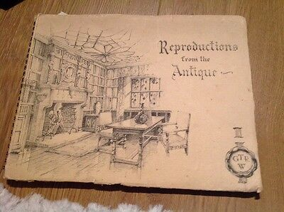 Reproductions From The Antiques Catalogue - Inc Price List - 1938 G T Rackstraw