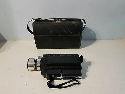 Bell & Howell Super 8 Movie Camera With Case