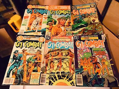 G.I. Combat  lot of 6 books  #269 #270 #271 #275 #276 and #277