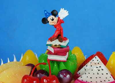 Disney Figure Model Disney Mickey Mouse Gift Cake Topper Decoration K1099_A