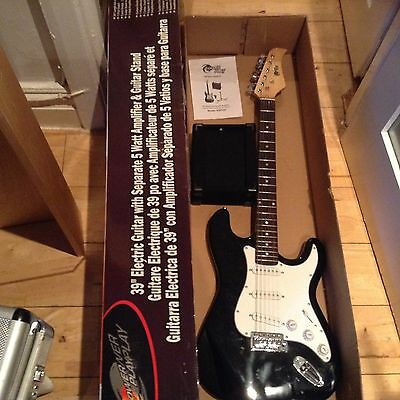 Power Play Electric Guitar And Amp New