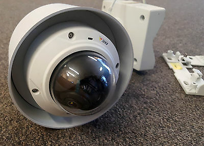 Axis M3025-VE 2 MP PoE Day Night Outdoor Dome with T91A Bracket & Pendant Kit