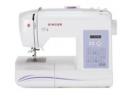 Singer Sewing Machine 6160 60-Stitch Computerized with Auto Needle Threader
