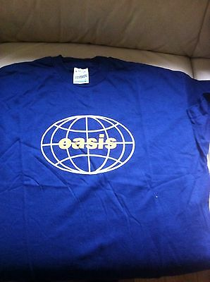 Vintage Oasis Be Here Now Wembley Arena  1997 Tour T-Shirt XL