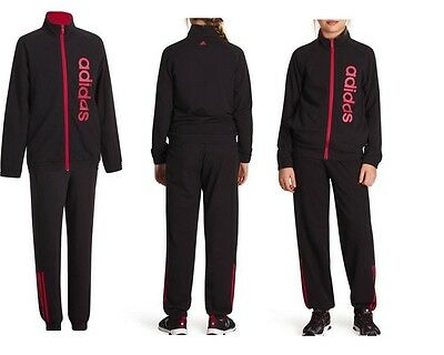 Adidas Girls Tracksuit Cotton 60% New