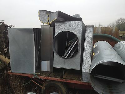 Industrial Extraction Ducting Duct Restaurant 700Mm