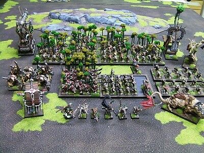 Warhammer Fantasy Age of Sigmar Well Painted Skaven Army