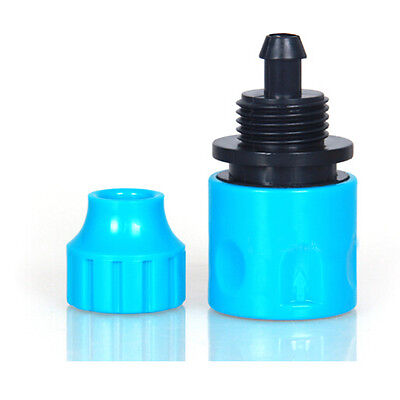 New 3/8 Inch Garden Micro Water Hose Fast Joint Plastic Connector Fitting