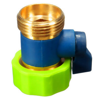 New 3/4 Inch Brass Water Hose Tap Quick Connector Garden Irrigation Fitting