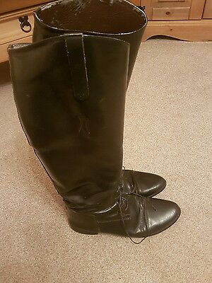 Horse riding boots ladies size 9