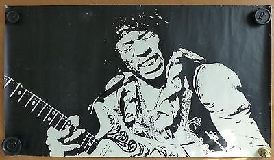 Jimi Hendrix Rare Vintage Poster from early 1970s (46cm x 80cm)