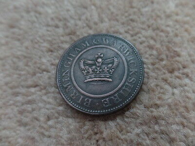 Rare Old British Large Coin 1812s , 34mm