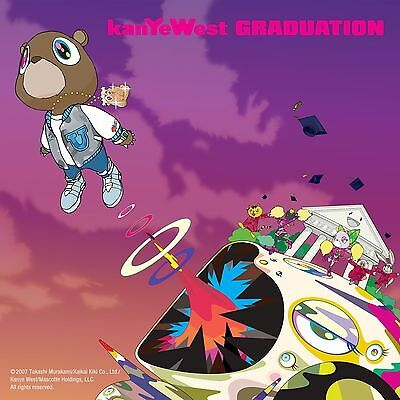 """Kanye West Graduation poster wall art decoration photo print 24"""" x 24"""" inches"""