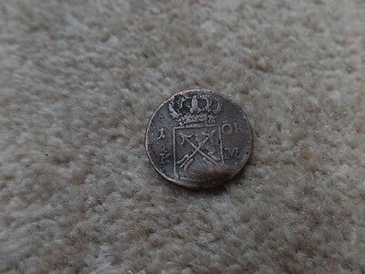 Rare OLD Sweden COIN 1725s