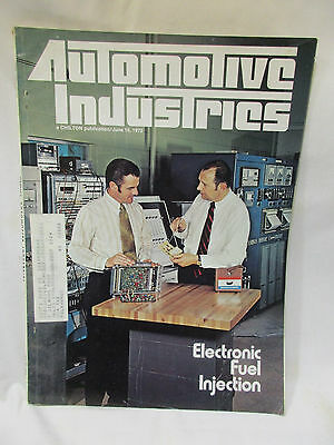 Automotive Industries, Chilton, June 15, 1972; Electronic Fuel Injection