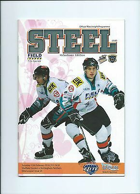 09/10 Sheffield Steelers  v  Nottingham Panthers  Feb 13th