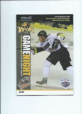 08/09 Newcastle Vipers v Sheffield Steelers  March 8th
