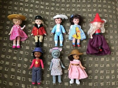 Mixed Lot of 8 Madame Alexander  McDonald's Happy Meal Toys