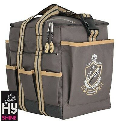 HySHINE Deluxe Grooming Bag – CHOCOLATE – Handy Bag For Competition Days
