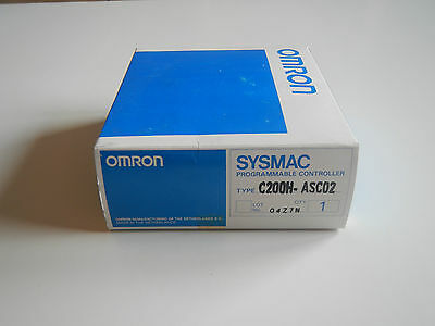 Omron / COMMUNICATION MODULE / type: C200H-ASC02 / NEW / ORIGINAL PACKAGE