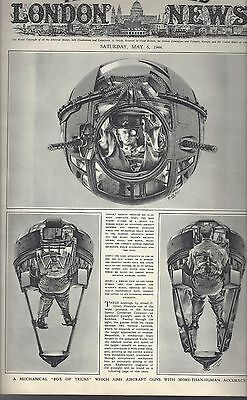 5/6/44 Illustrated London News..the War Completely & Exclusively Illustrated