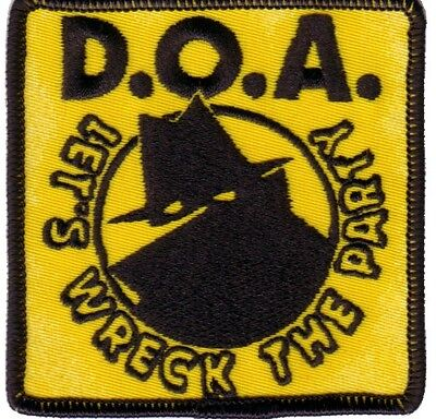 D.O.A.- Let's Wreck The Party Patch