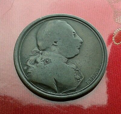 1773 Kirk Sentimental Medal -George Iii