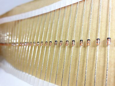 Lot of 3750 New Zener Diodes 1N5234BTR, through hole, Fairchild Semiconductor