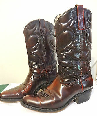 DINGO ACME Cowboy Boots Made in USA size 9D Lightly worn