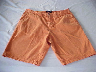 American Eagle Outfitters Men's Prep Shorts Orange Size 33