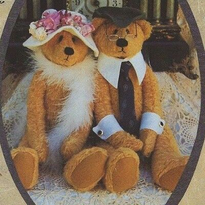 Uncut 1996 Country In The City * Forever Together Teddy Bear Pattern