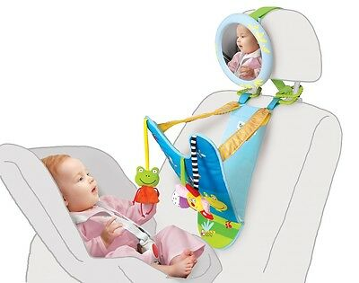 All in One Baby Car Toy, Keeps Both Baby and Parent Calm and Happy While in Car.
