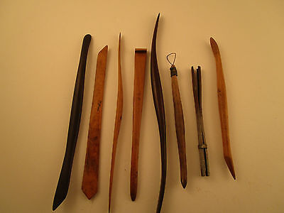 Vintage Pottery Tools (22 Peices)