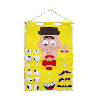 NEW Expressions Chart Learning  Educational Toy Kids Childrens Toys
