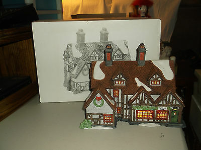 "Dept 56,Heritage Village Collection""Ashbury Inn"",Lighted House, 5555-7"