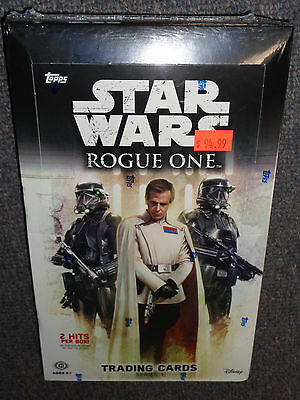 Star Wars Rogue One trading card box -SEALED! Series 1 -Topps