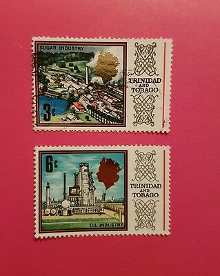 Trinidad and tobago Industry stamps