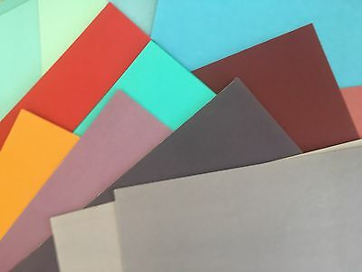 """SCRAPBOOKING PAPER - MIXED PACK of PLAIN 12 x 12"""" PAPERS"""