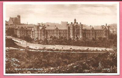 Royal Infirmary, Dundee Angus Scotland postcard Real Photo Valentine's. Hospital