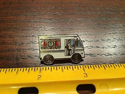 Vintage Mother's Cookies Delivery Truck Pin Lapel Free Shipping
