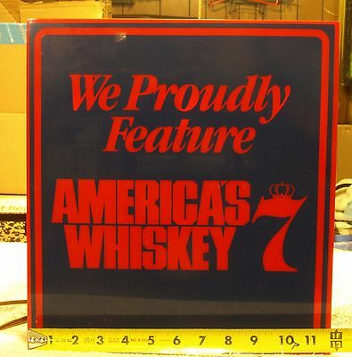 Seagrams 7 light - We Proudly Feature Americas Whiskey
